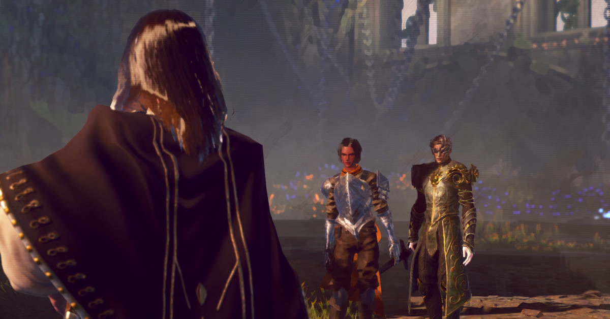 Co-op action game Babylon's Fall finally gets gameplay trailer - The Verge