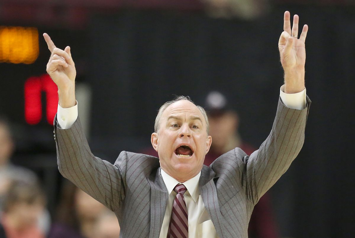 NCAA Basketball: Mississippi State at Texas A&M