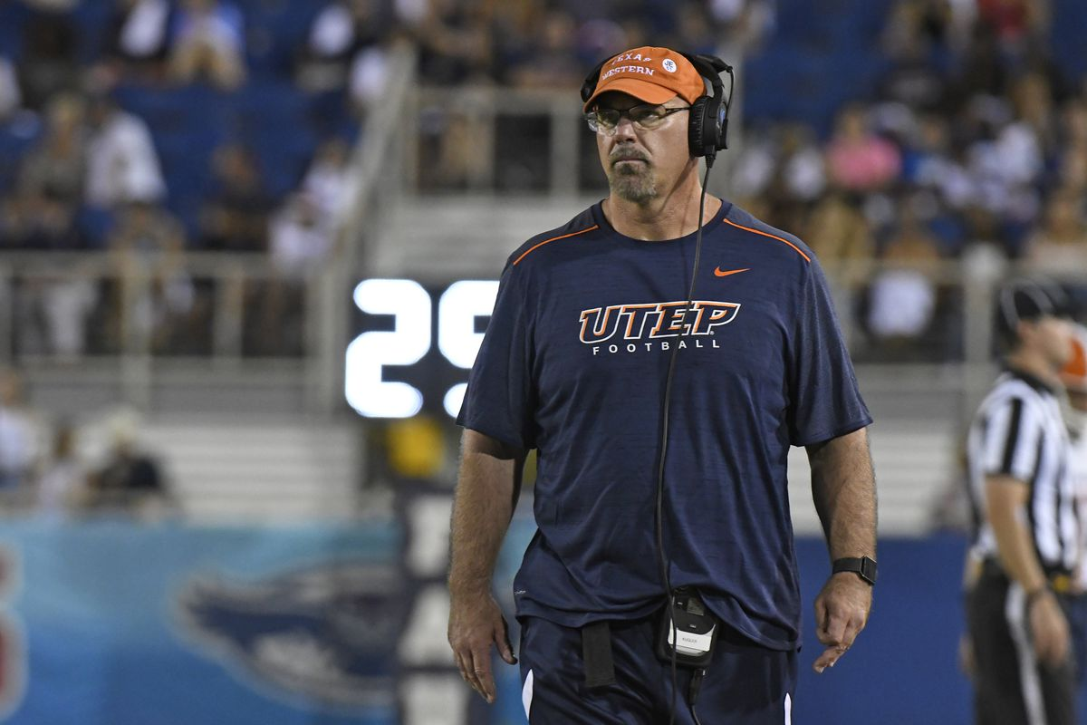 Sean Kugler resigns as UTEP head coach
