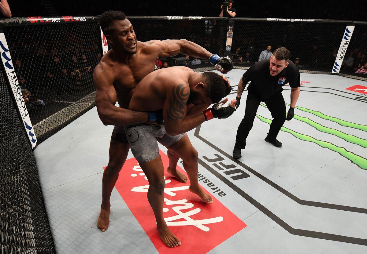UFC Fight Night: Blaydes v Ngannou 2