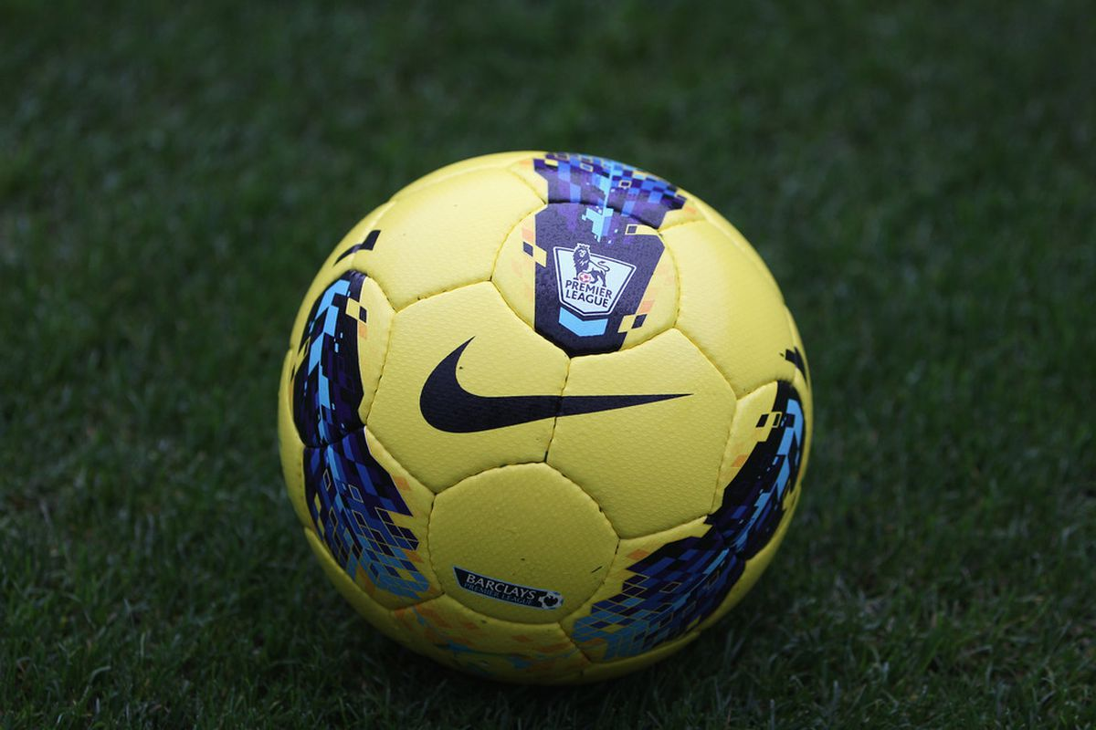 The Premier League ball is still. . . but we are not!