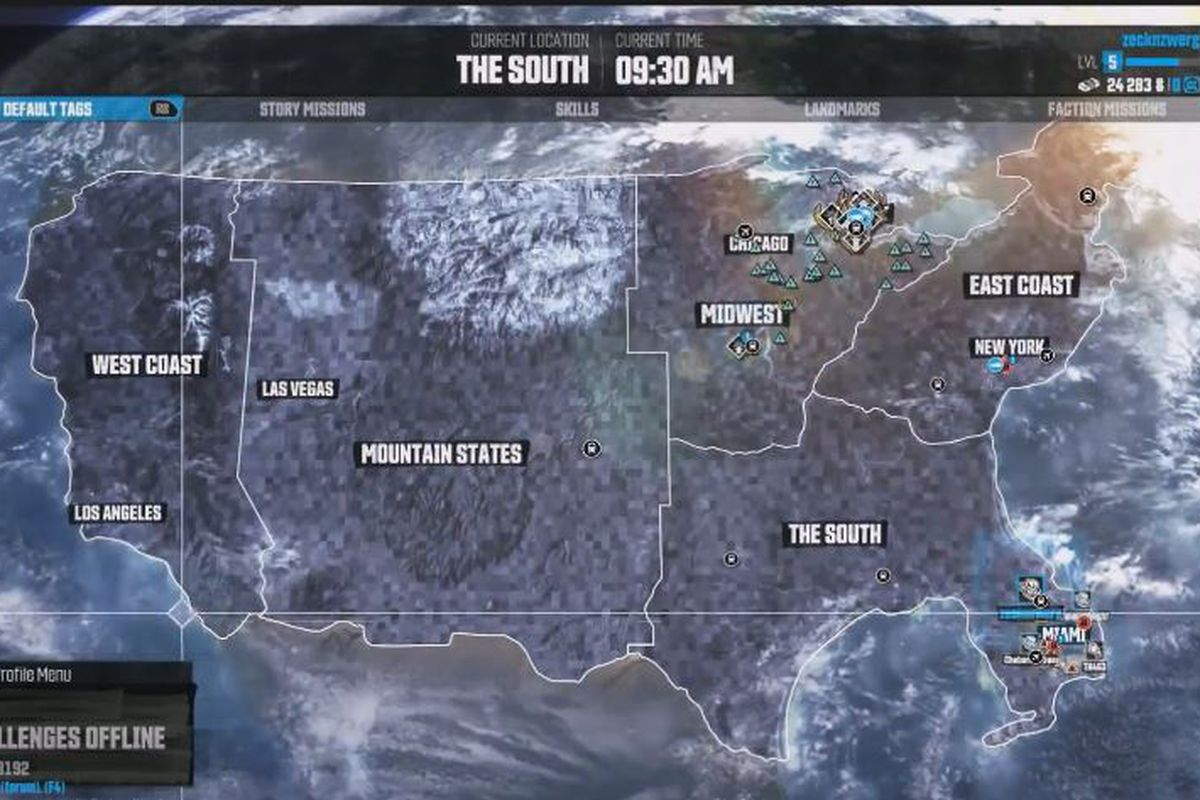 How Big Is The Crew Map It takes 40 minutes to drive across country in The Crew, watch it