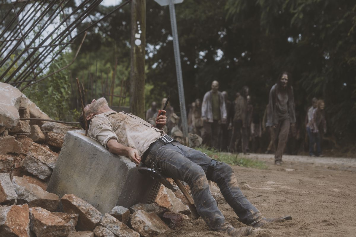 The Walking Dead has condemned itself for all time - The Verge