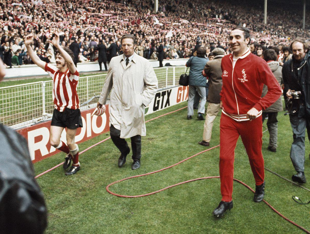 1973 FA Cup Final Winners Sunderland
