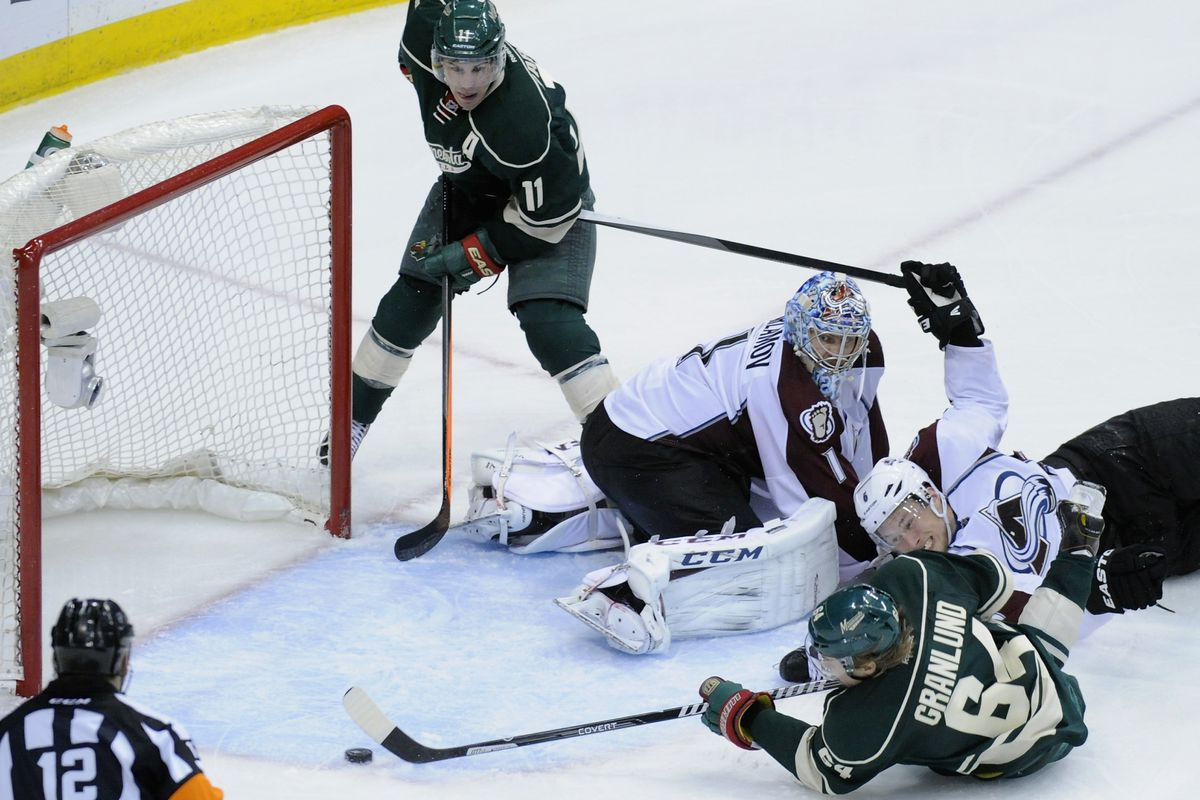 Mikael Granlund, as we learned Monday night, is good at hockey.