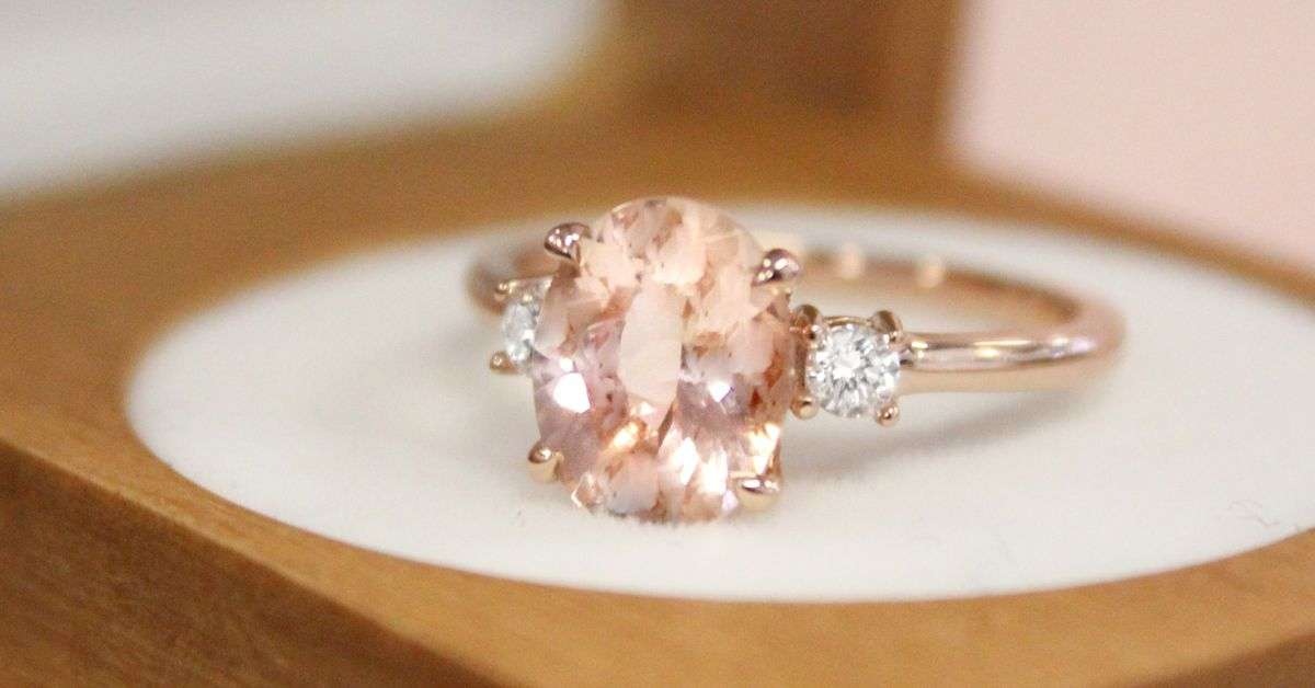 What Is Morganite The New Diamond Alternative Engagement
