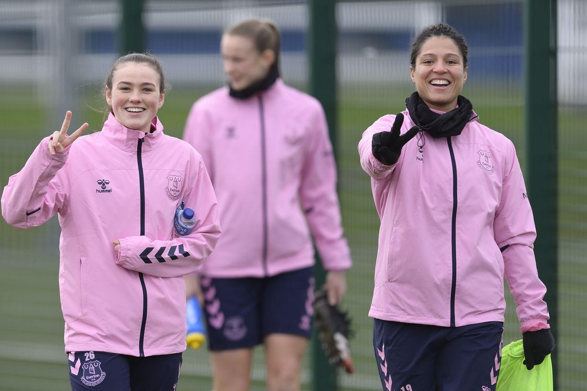 Everton Women Training Session