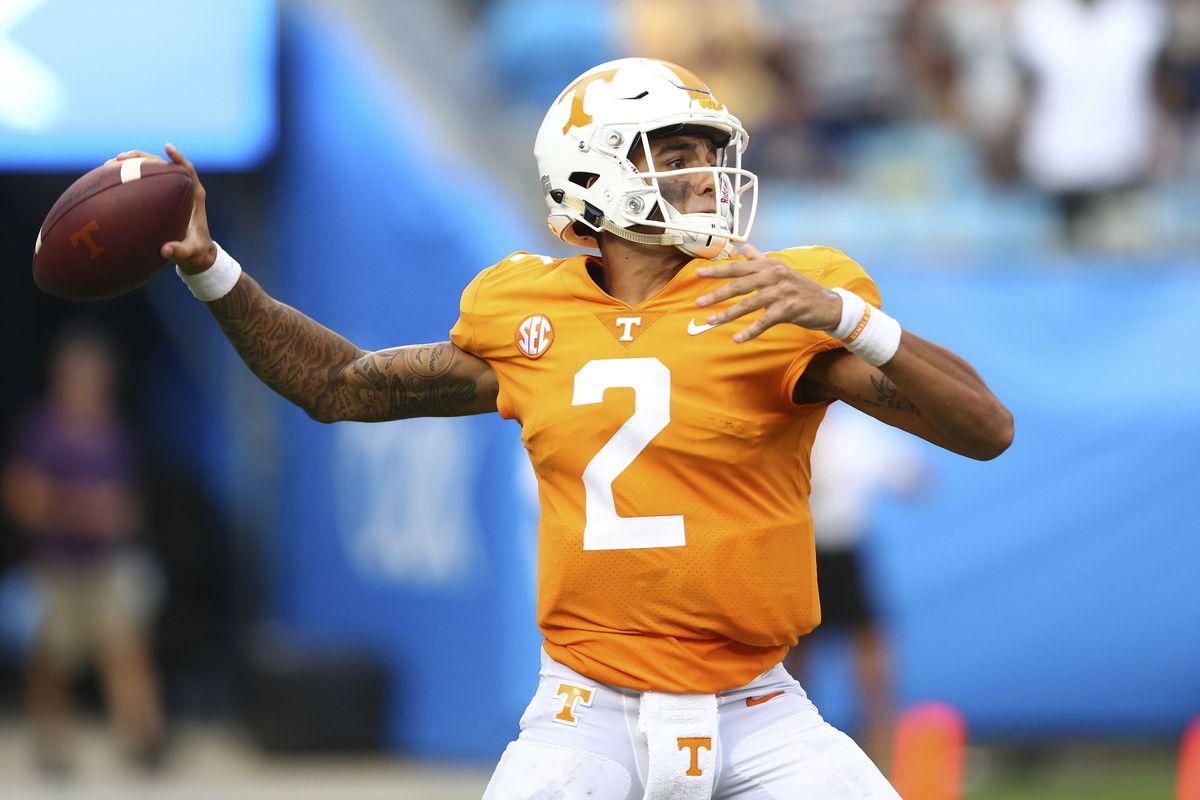 NCAA Football: Tennessee at West Virginia