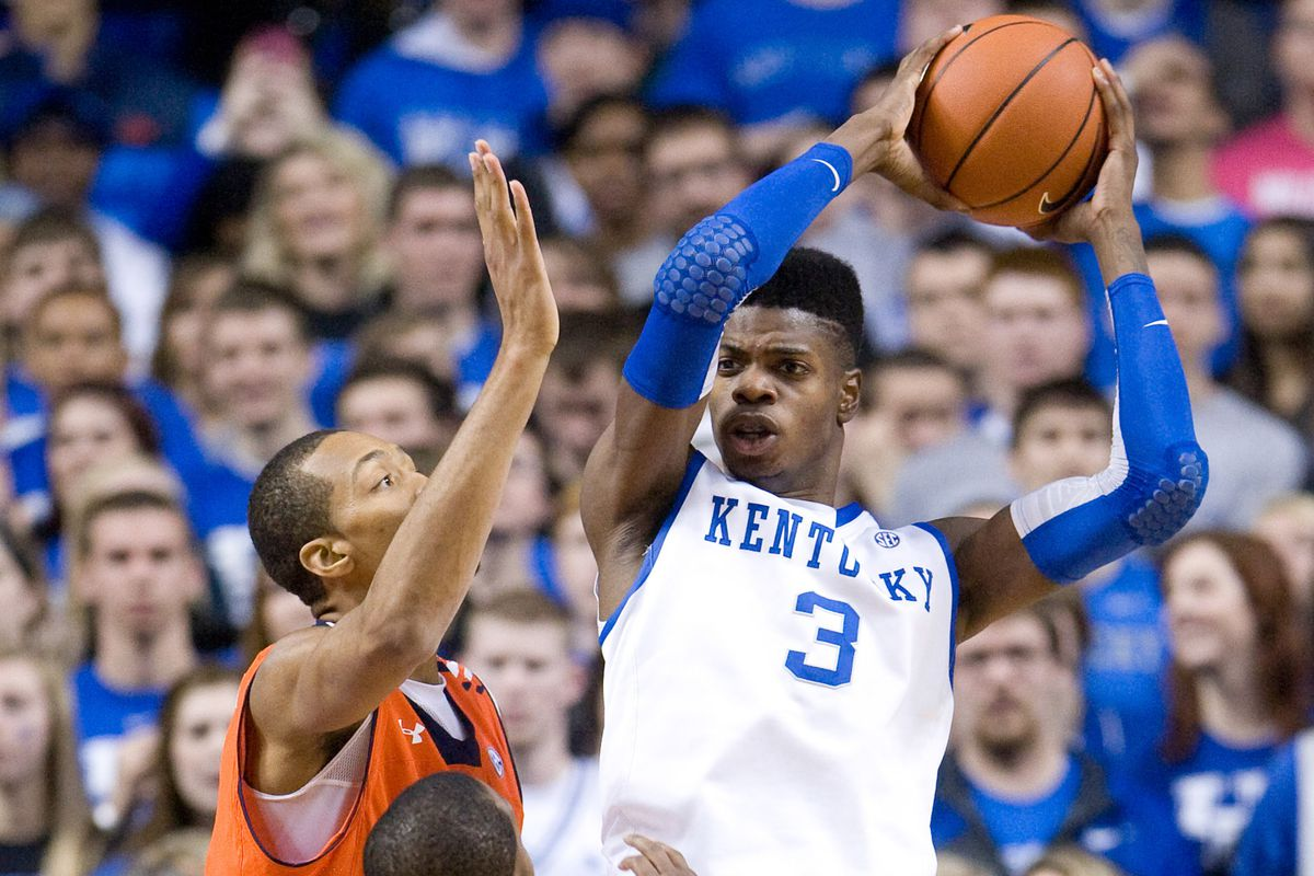 Nerlens Noel is the top center available in the 2013 draft despite an torn ACL