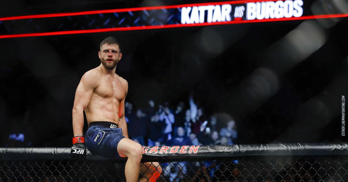 <p>Calvin Kattar warns Max Holloway ahead of UFC Fight Island :'To overlook me would be a mistake' thumbnail