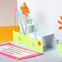 Popouts and glued-on elements make for festive, creative additions to handmade greeting cards.