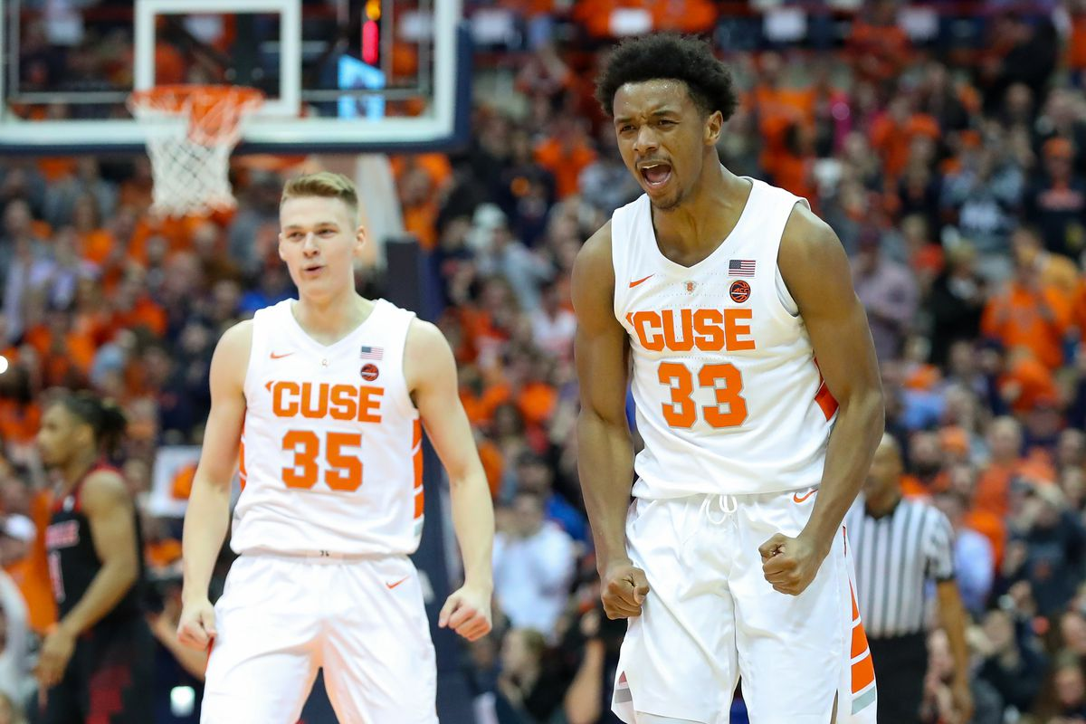 Syracuse Orange Men S Basketball 2019 20 Season Preview Troy Nunes Is An Absolute Magician