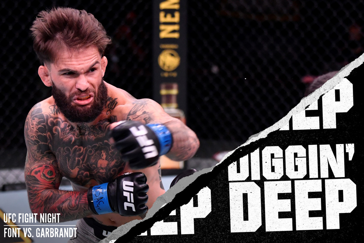 Cody Garbrandt fighting Raphael Assuncao at UFC 250