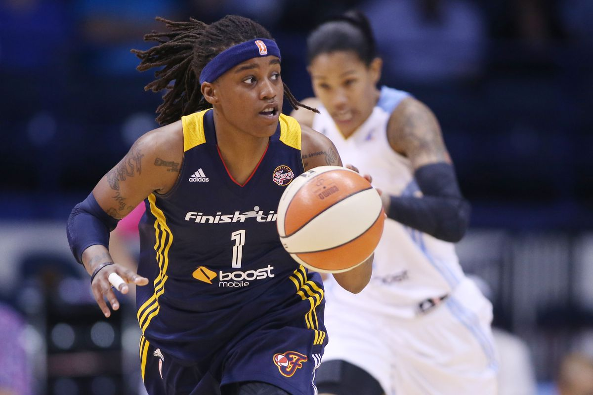 Shavonte Zellous has had to step up in 2013 as the Indiana Fever have dealt with a rash of injuries.