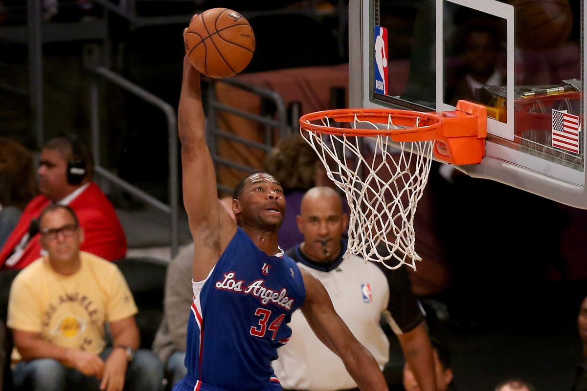 This is Willie Green.  Scoring.  On a dunk.