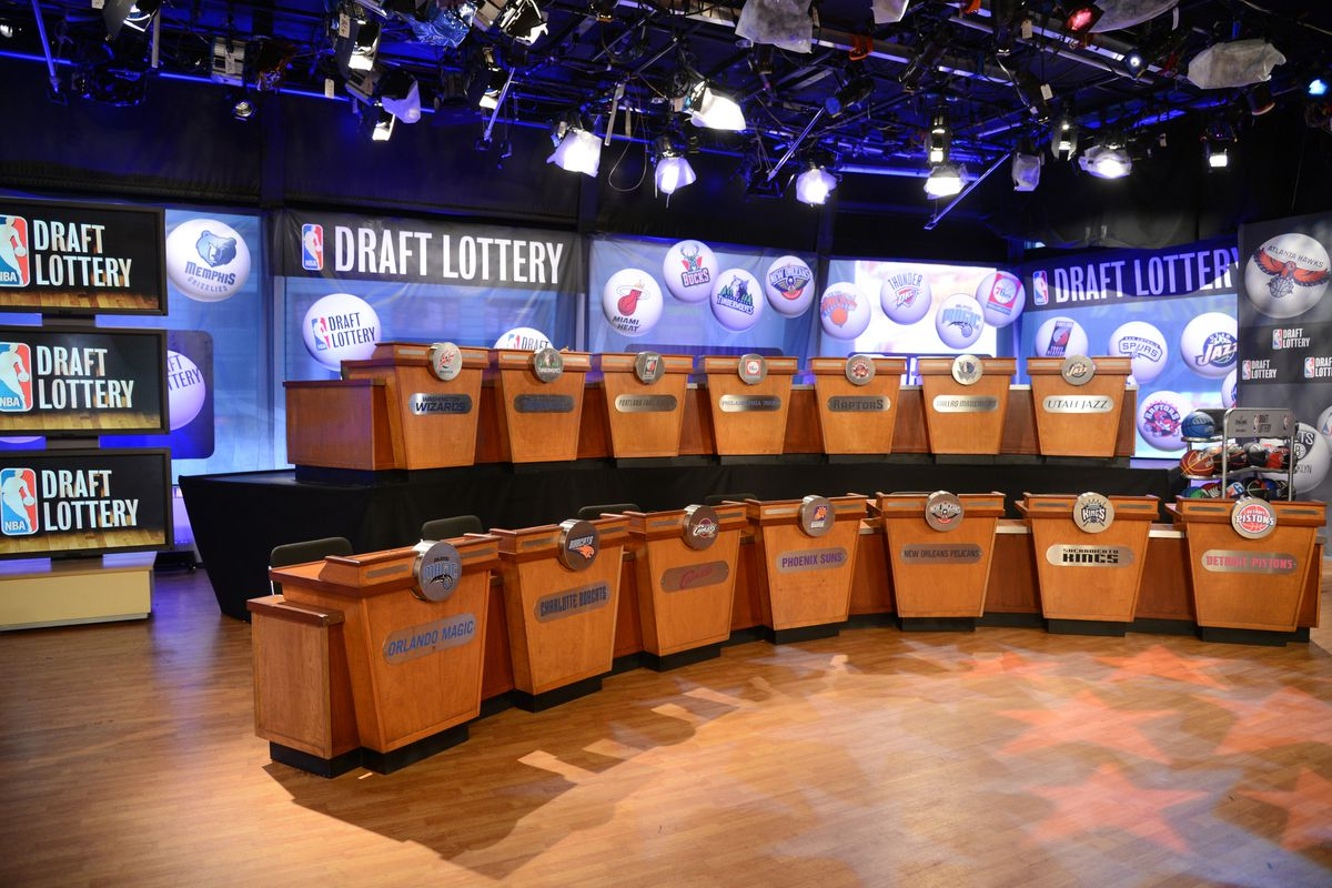 NEW YORK, NY - MAY 21: A general overall view of the 2013 NBA Draft Lottery on May 21, 2013 at the ABC News' 'Good Morning America' Times Square Studio in New York City. NOTE TO USER: User expressly acknowledges and agrees that, by downloading and/or
