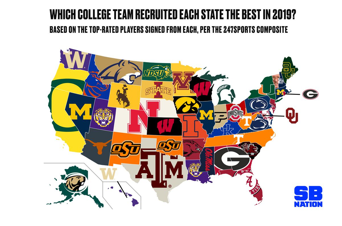 National Signing Day 2019: Each state's recruiting champ