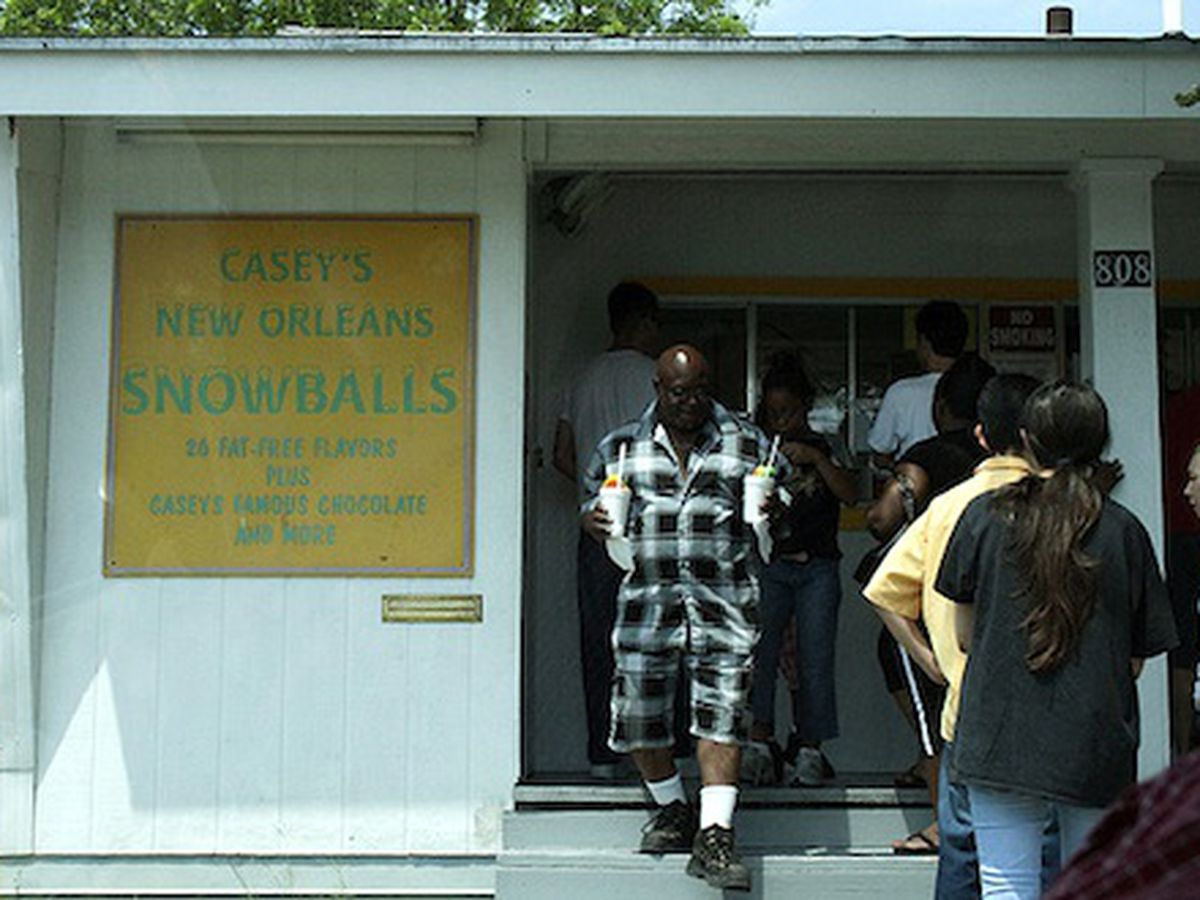 Casey's New Orleans Snowballs.