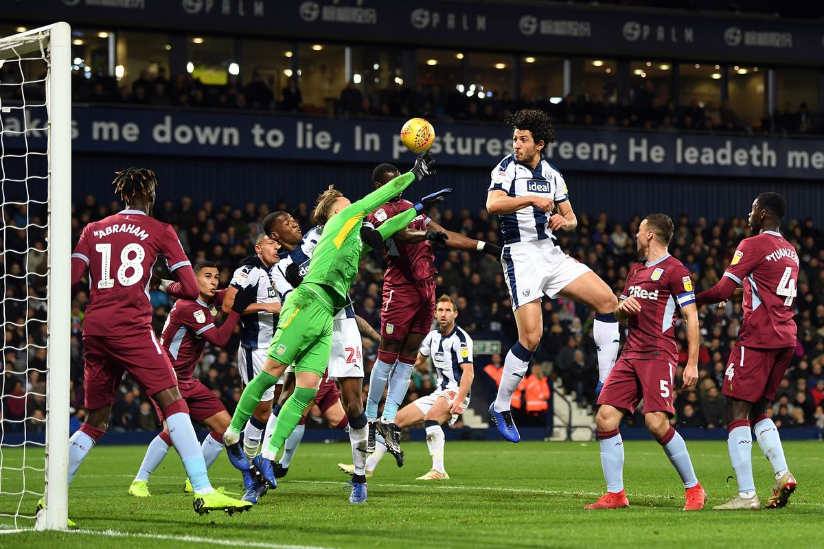 West Brom 2 2 Aston Villa James Rodriguez Handball Seals