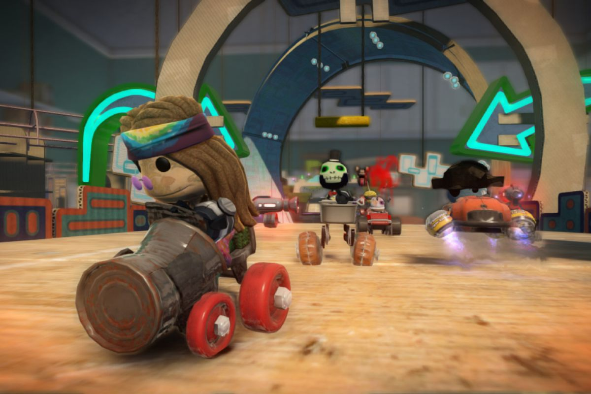 LittleBigPlanet Karting Cross-Compatibility Pack available now