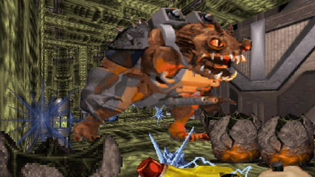 A monster in Duke Nukem 3D