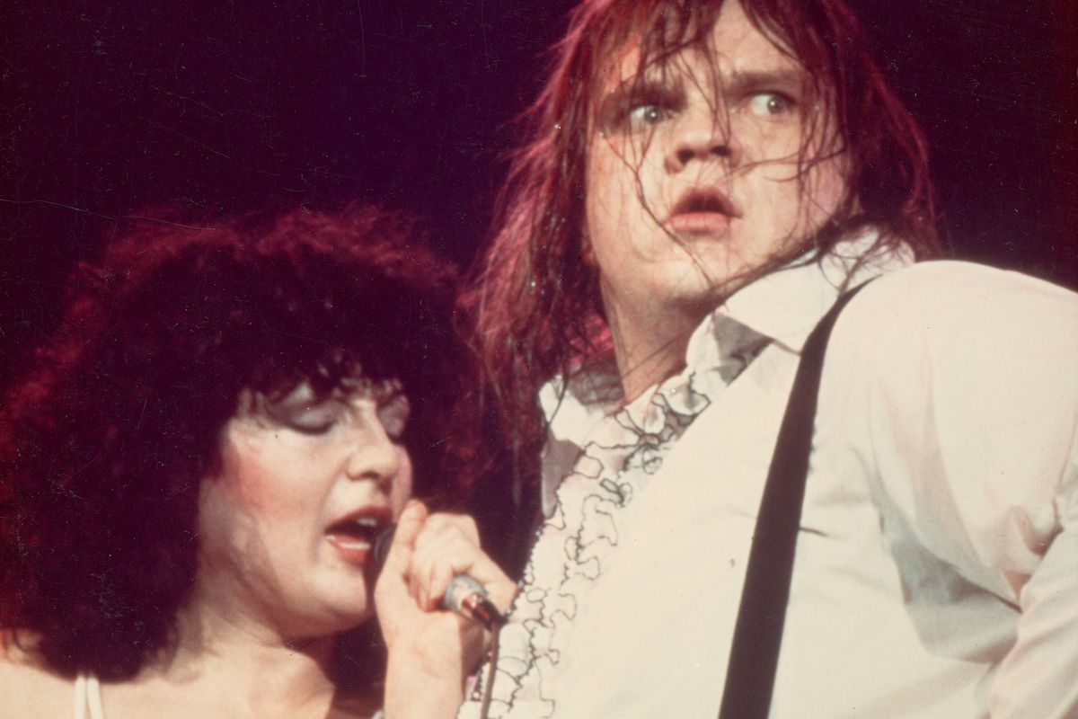 Meat Loaf And K. Devito Perform On Stage, Circa 1978.