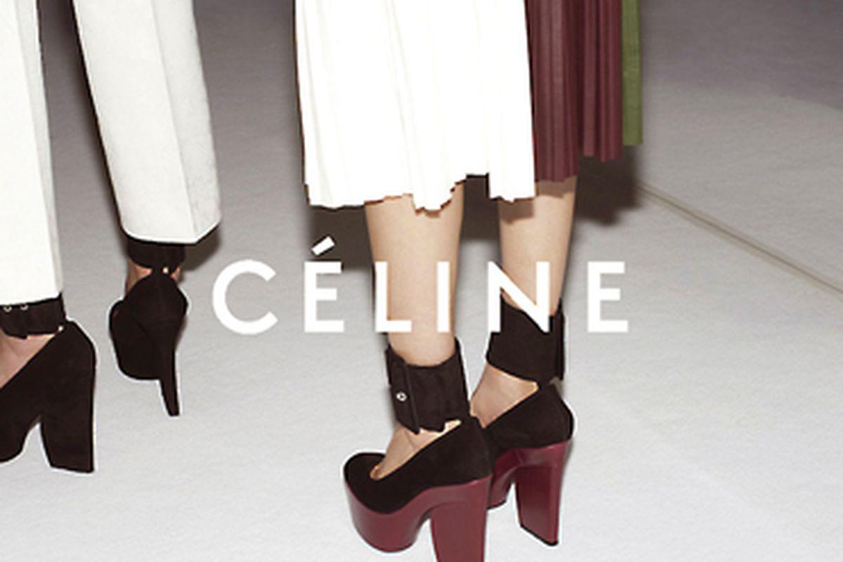 """Photo via <a href=""""http://www.celine.com/"""">Celine.com</a>."""