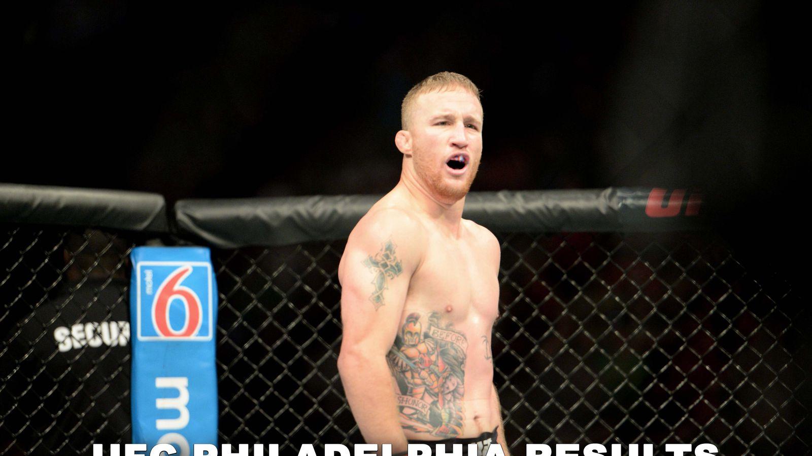 UFC on ESPN 2 results: Edson Barboza vs Justin Gaethje live stream