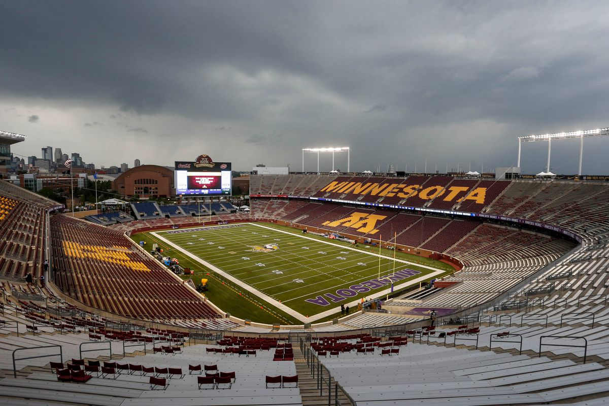 TCF Bank is the site of the first outdoor NHL game in Minnesota history.
