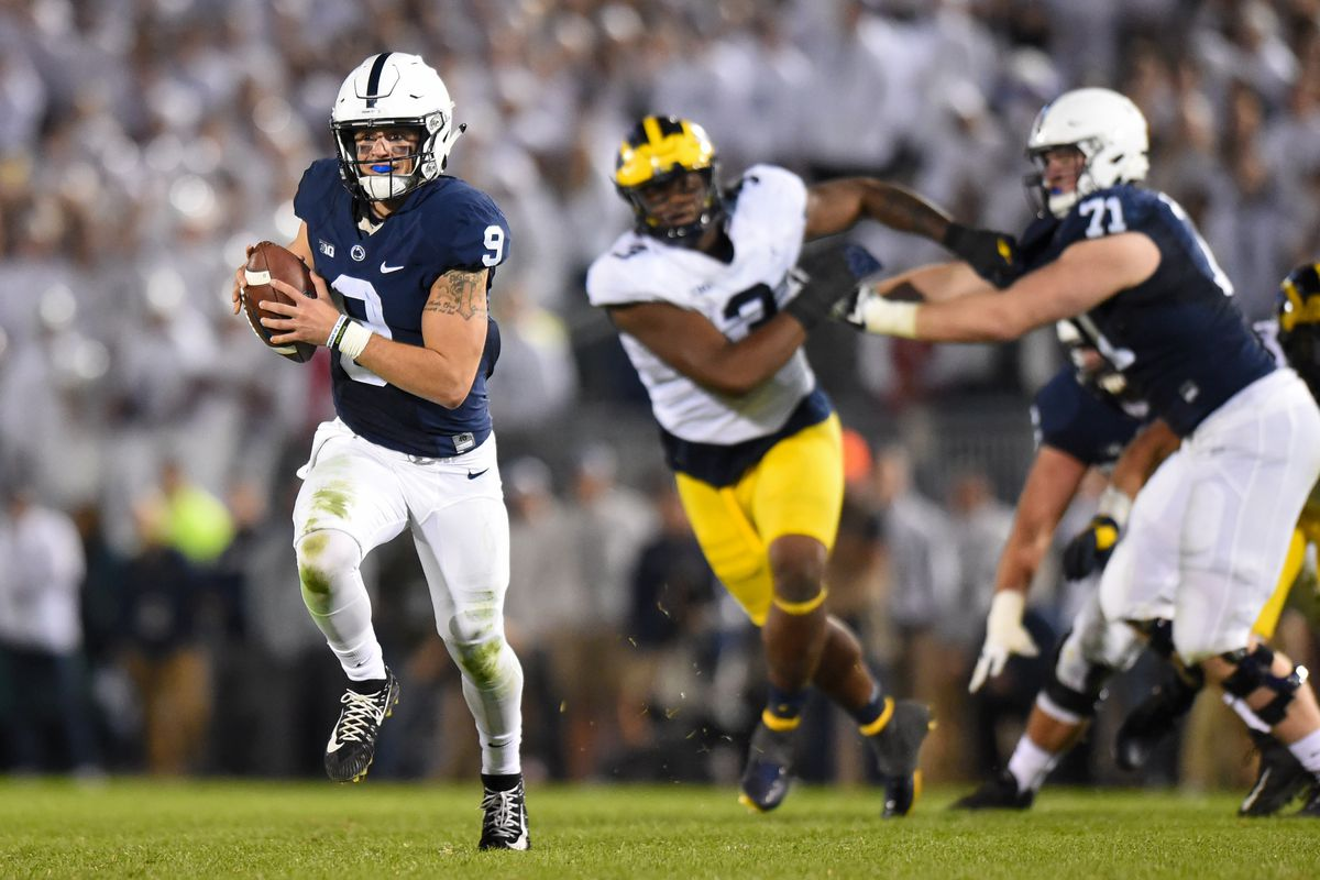 Tale of the Tape  Penn State 2018 (Trace McSorley Destroyed Michigan ... da4c00fb2