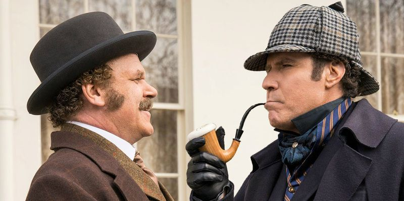 John C. Reilly and Will Ferrell in Holmes & Watson