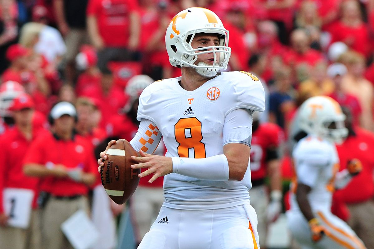 official photos 1fe39 8e8dd Scouting The 2013 NFL Draft: Tyler Bray, QB, Tennessee ...