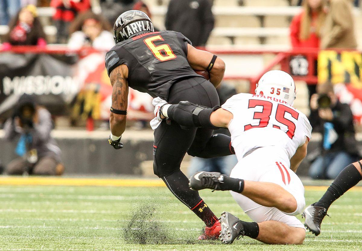 NCAA FOOTBALL: NOV 26 Rutgers at Maryland