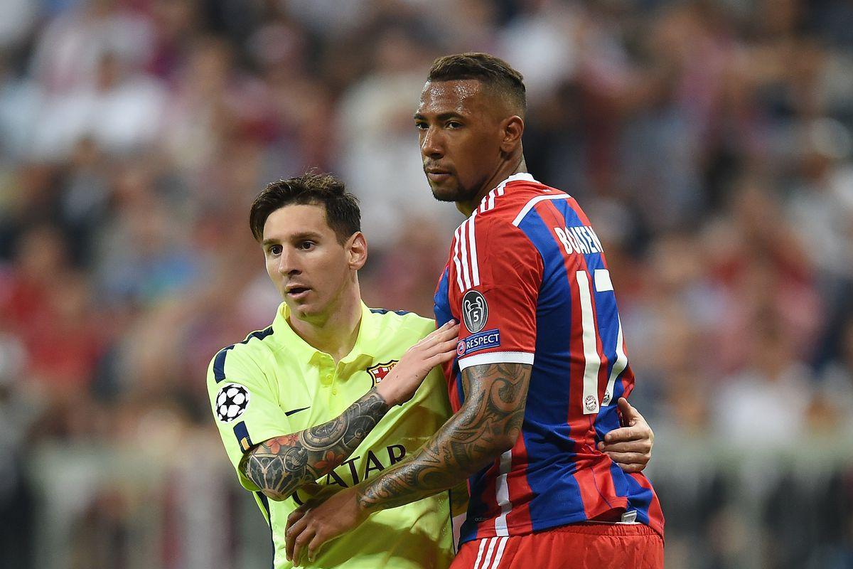 Fussball CHL 14/15 Halbfinale: Enttaeuschung FC Bayern Muenchen