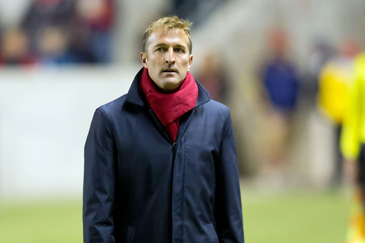 Jason Kreis - the mastermind behind Real Salt Lake and a One Hell of a Snazzy Dresser