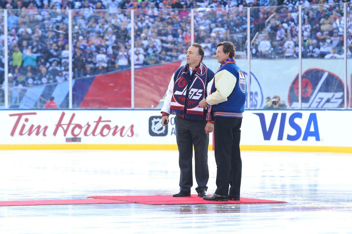NHL: Heritage Classic-Edmonton Oilers at Winnipeg Jets
