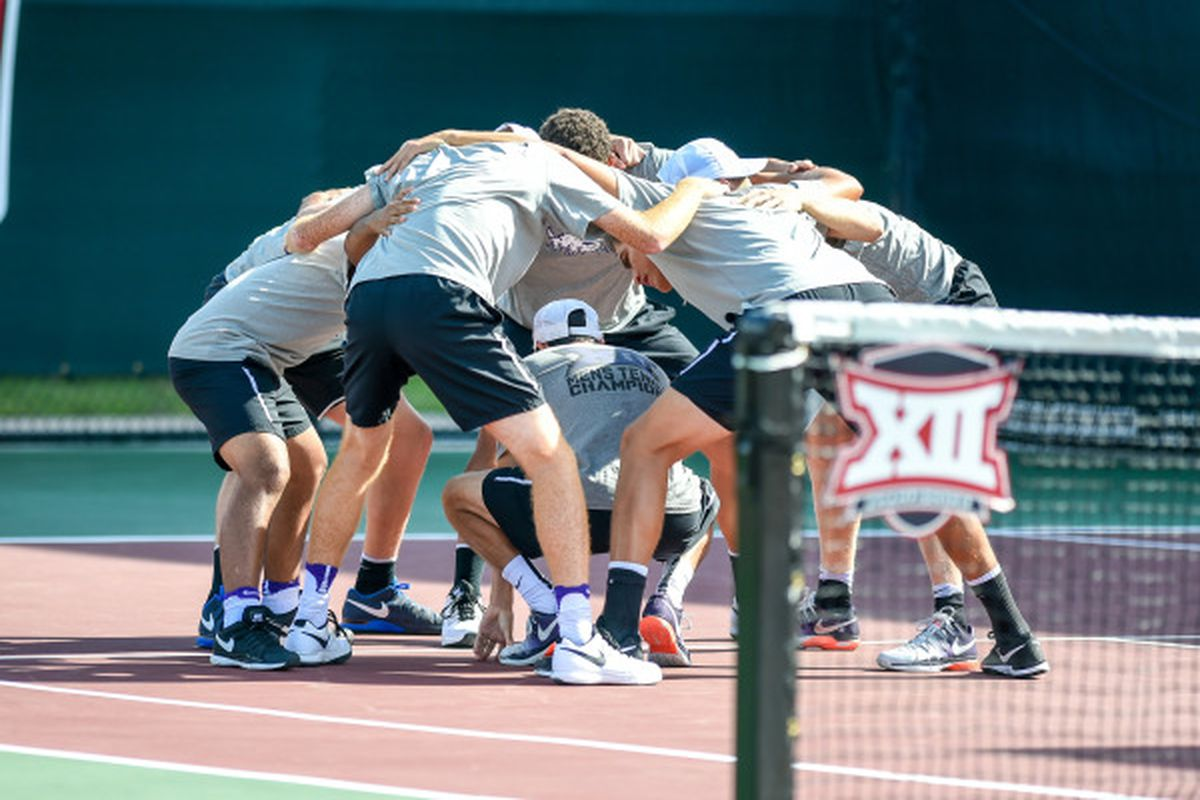 TCU Men's Tennis team