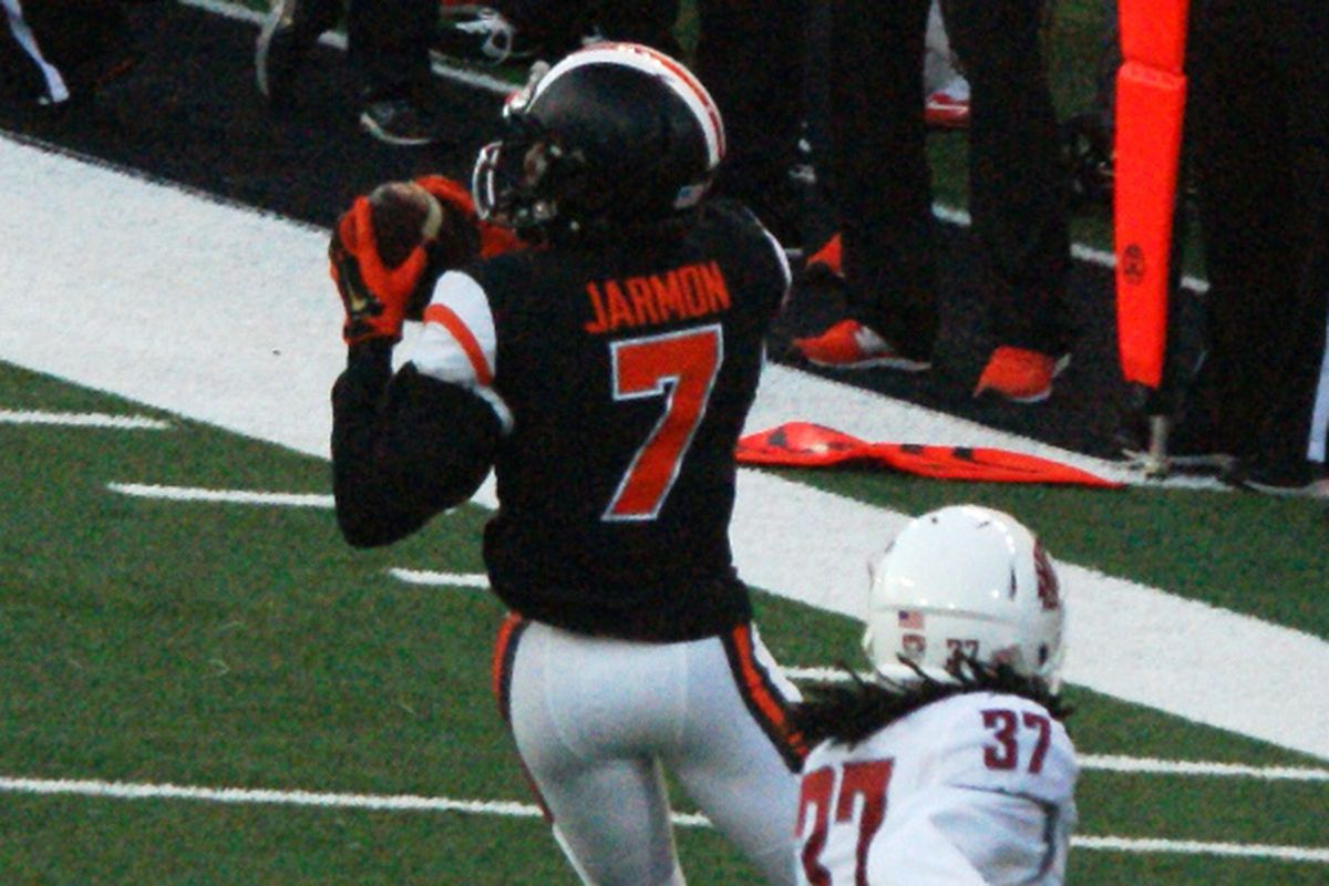 Can Hunter Jarmon become a difference maker for the Oregon St. offense just in time for one of the most challenging final 3 games of a season the Beavers have ever faced?