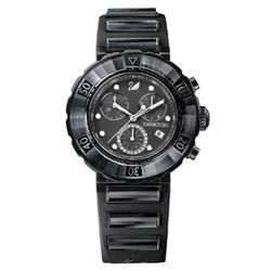 """<strong>Swarovski</strong> Octea Chrono watch, <a href=""""http://www.swarovski.com/Web_US/en/1124156/product/Octea_Chrono_-_Anthracite.html"""">$950</a>, is a definite splurge—but absolutely perfect for the girl with a serious watch collection. Aussie fashion"""