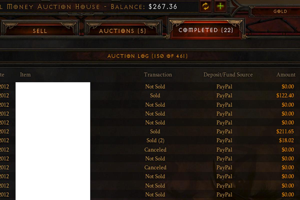 diablo 3 real money auction house