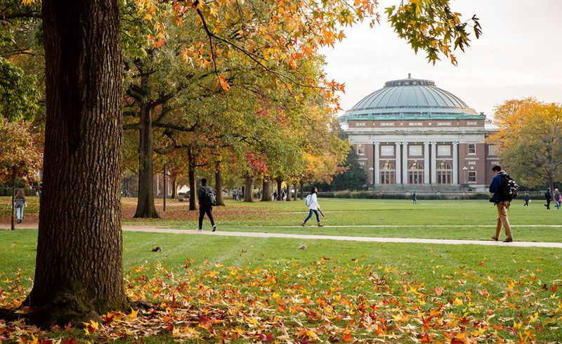 University of Illinois at Urbana-Champaign campus. File Photo.