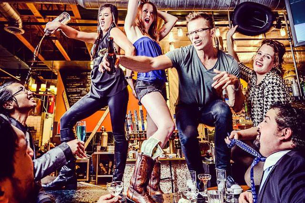 Travail channels their inner Coyote Ugly for the 2015 Sexy Chefs Calendar