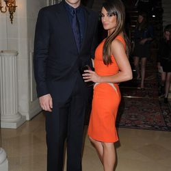More Glee: Cory Monteith and Lea Michele bring the sexy...with their eyes...or something.