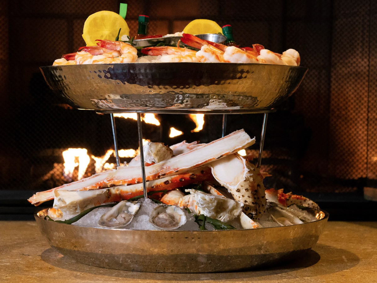 Lawry's The Prime Rib's seafood tower
