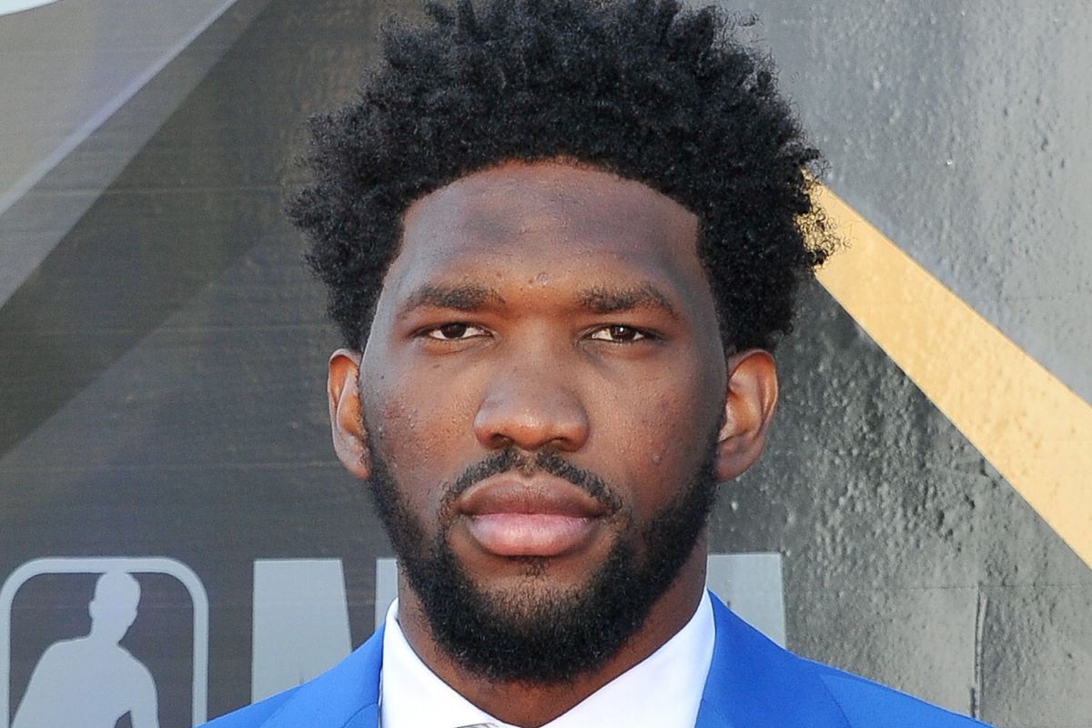 02bc0d501538 Joel Embiid Takes on the Hot Ones Challenge - Liberty Ballers