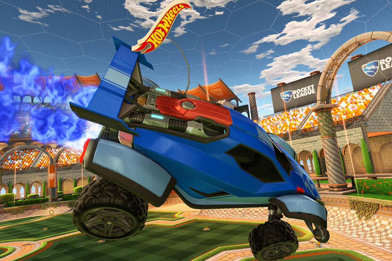 hot wheels is bringing rocket league to life with remote control cars
