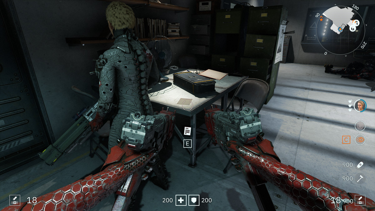 Wolfenstein: Youngblood Readable 52 Moritz's Note collectibles