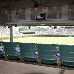 12:07 p.m. Cupholders on the back row, to accommodate ADA guests -