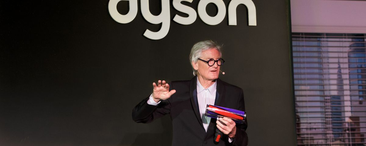 James Dyson talks cordless vacuums, design, and about those