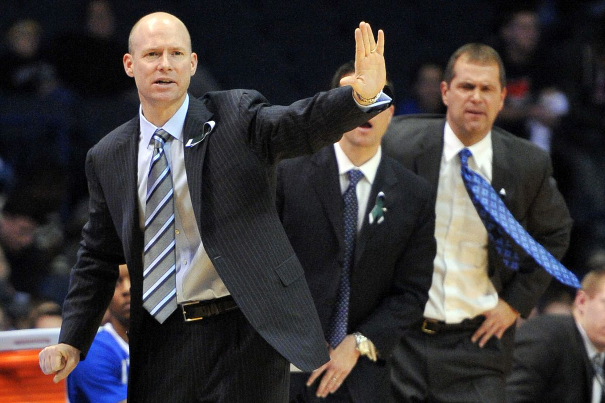 Kevin Willard and DOBO Stephen Sauers (right) have a lot to do with Seton Hall's non-conference scheduling.